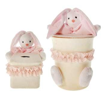 ست سطل و جادستمال اتاق کودک طرح خرگوش رابیت