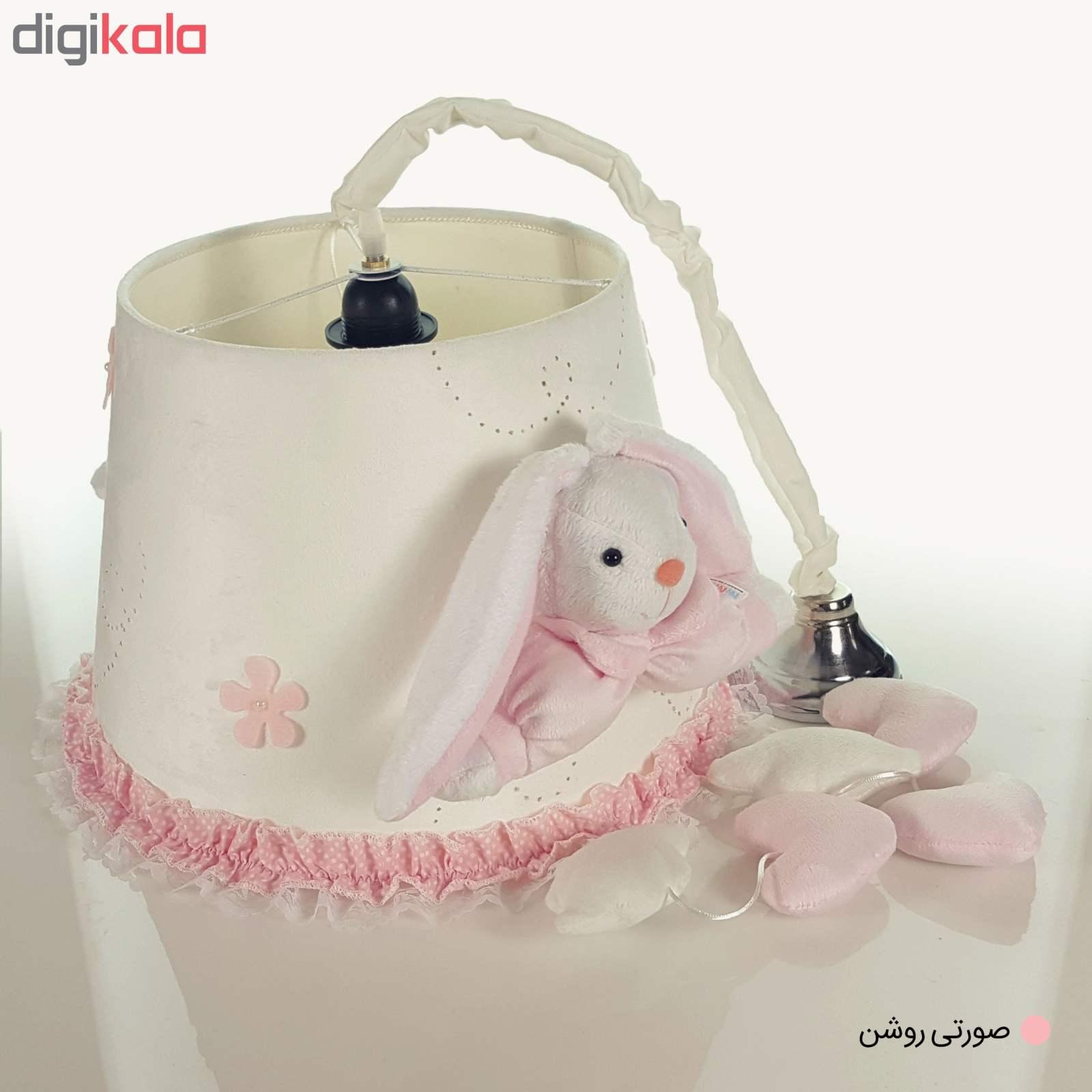لوستر اتاق کودک طرح خرگوش رابیت main 1 2