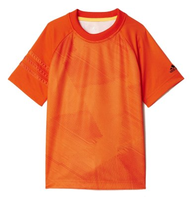 تصویر تی شرت ورزشی آستین کوتاه پسرانه Printed Training – آدیداس