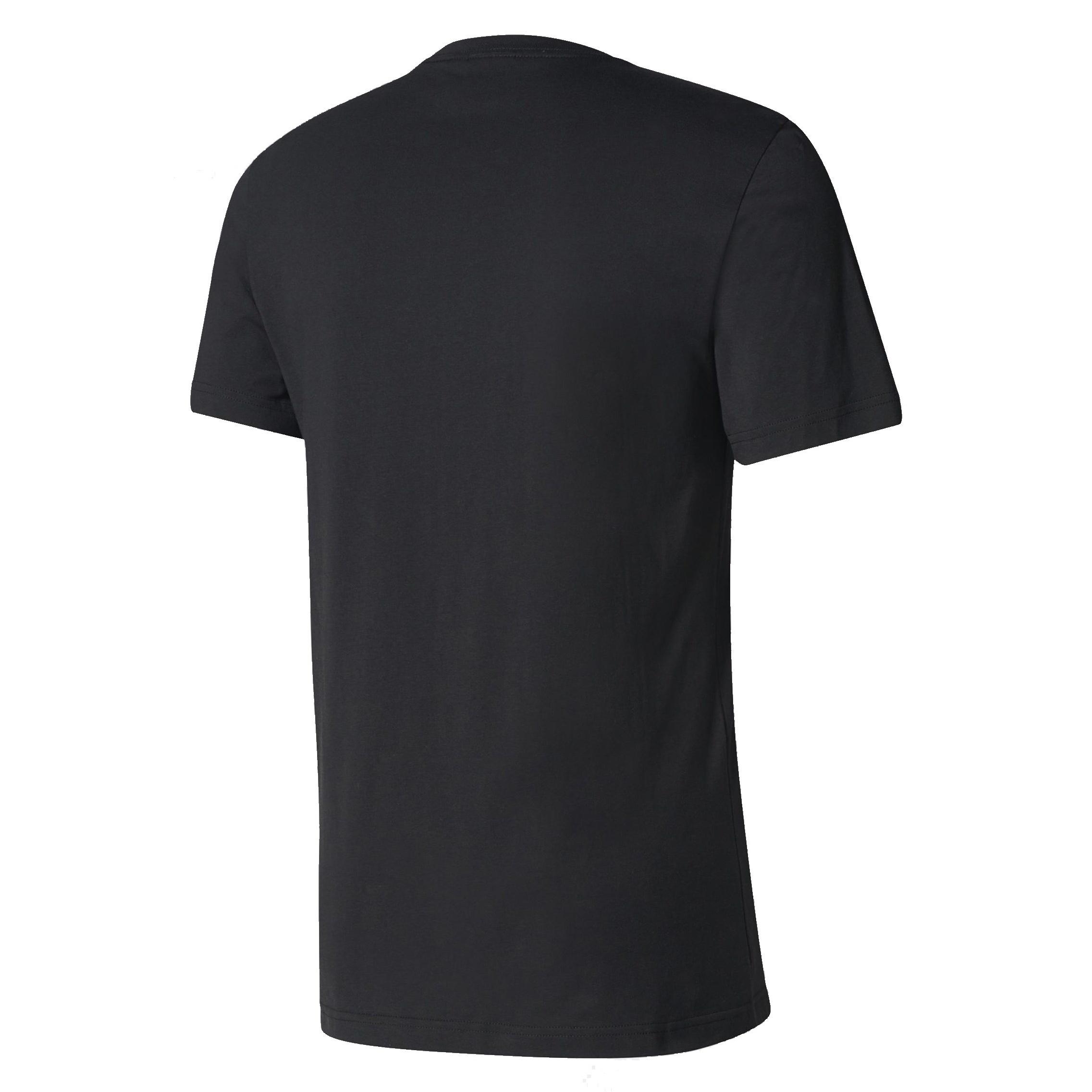 تی شرت نخی یقه گرد مردانه Trefoil Graphic - آدیداس