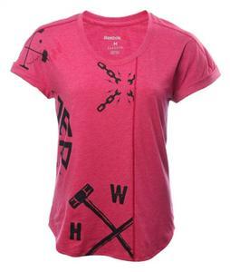 تی شرت ورزشی یقه گرد زنانه SpeedWick - ریباک