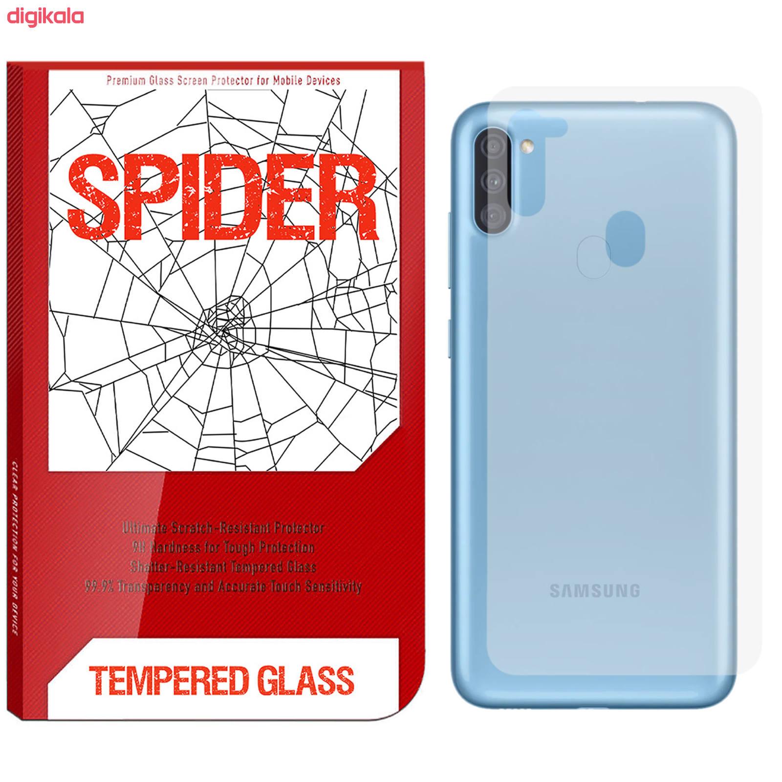 محافظ پشت گوشی اسپایدر مدل TPS-01 مناسب برای گوشی موبایل سامسونگ Galaxy A11 main 1 1