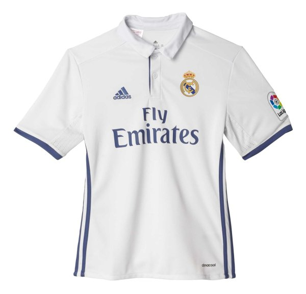 پولوشرت ورزشی آستین کوتاه پسرانه Real Madrid Home Replica - آدیداس