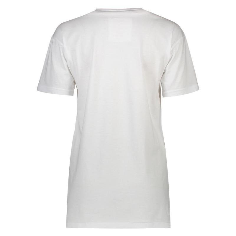 تی شرت نخی یقه گرد زنانه - تچر