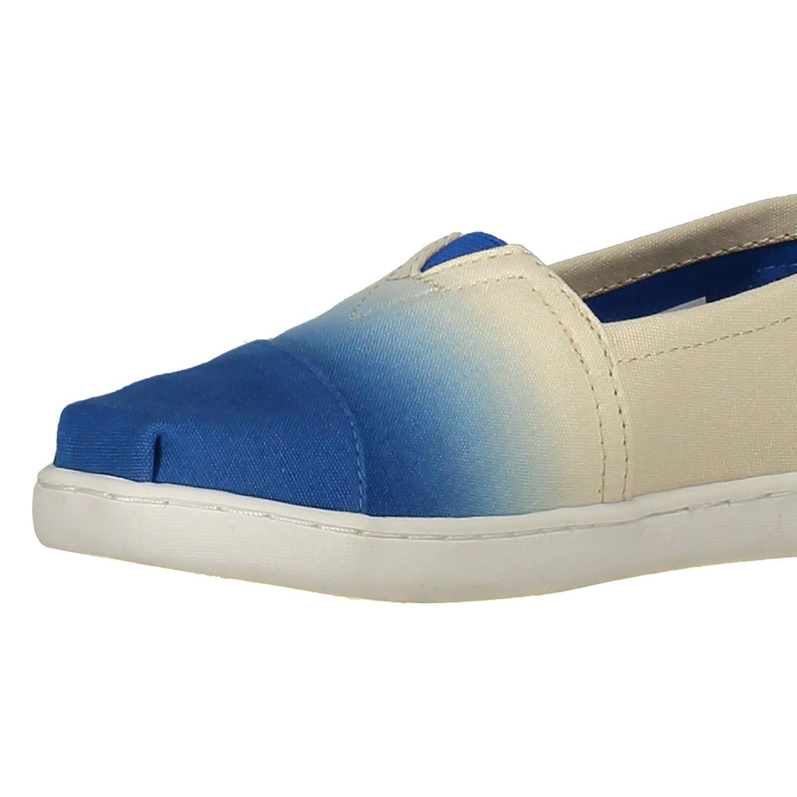 کفش راحتی نخی بچگانه - تامز - سفيد آبي - 6