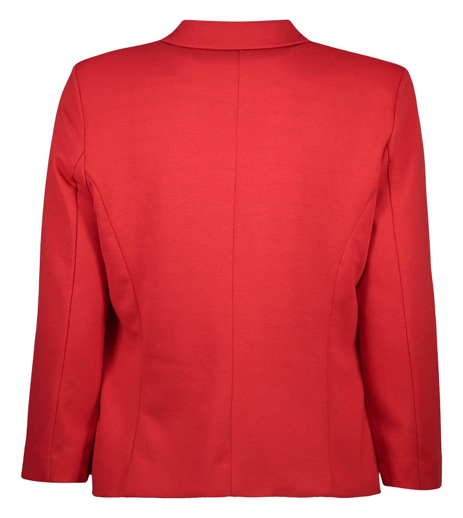 کت کوتاه زنانه - جنیفر - قرمز - 2