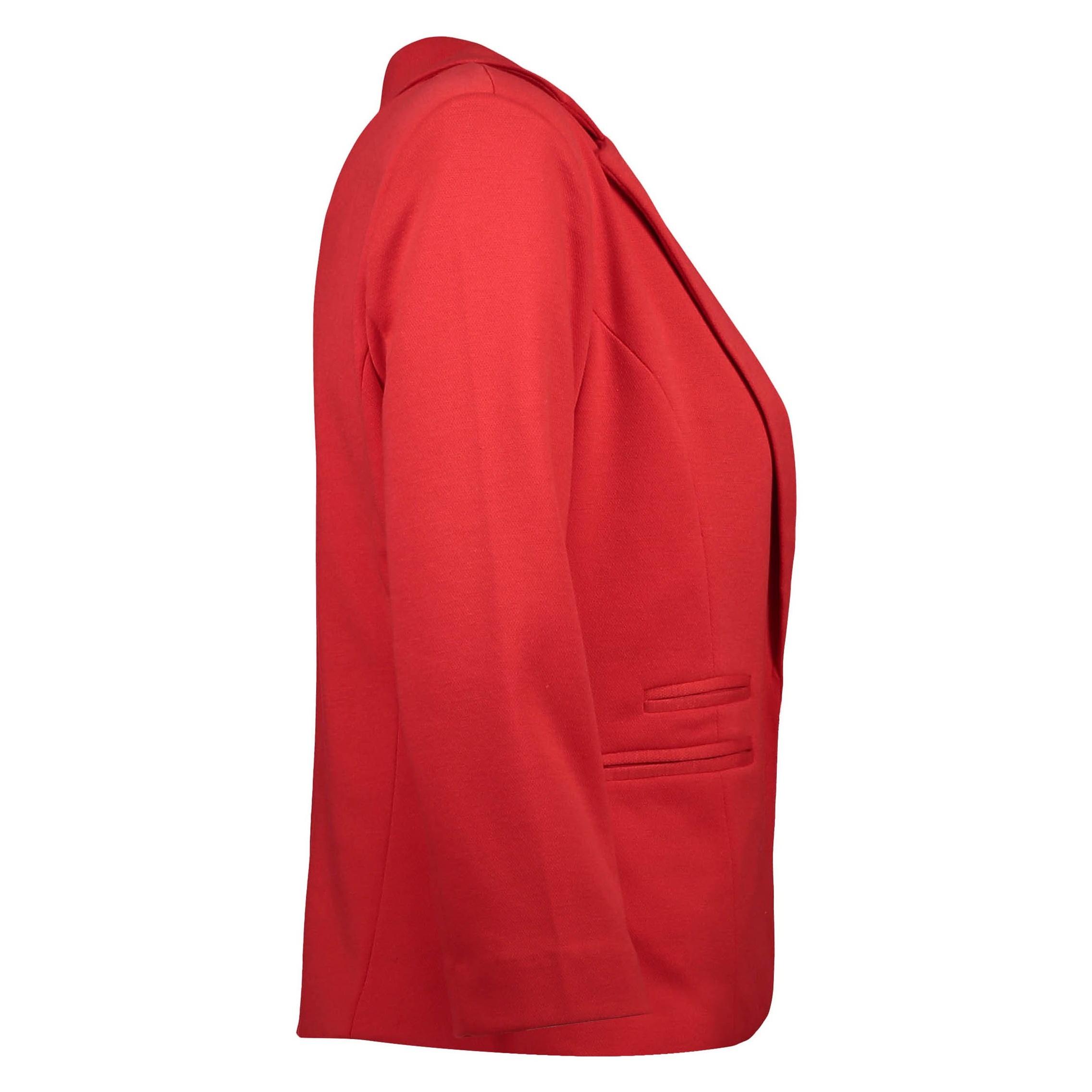 کت کوتاه زنانه - جنیفر - قرمز - 3