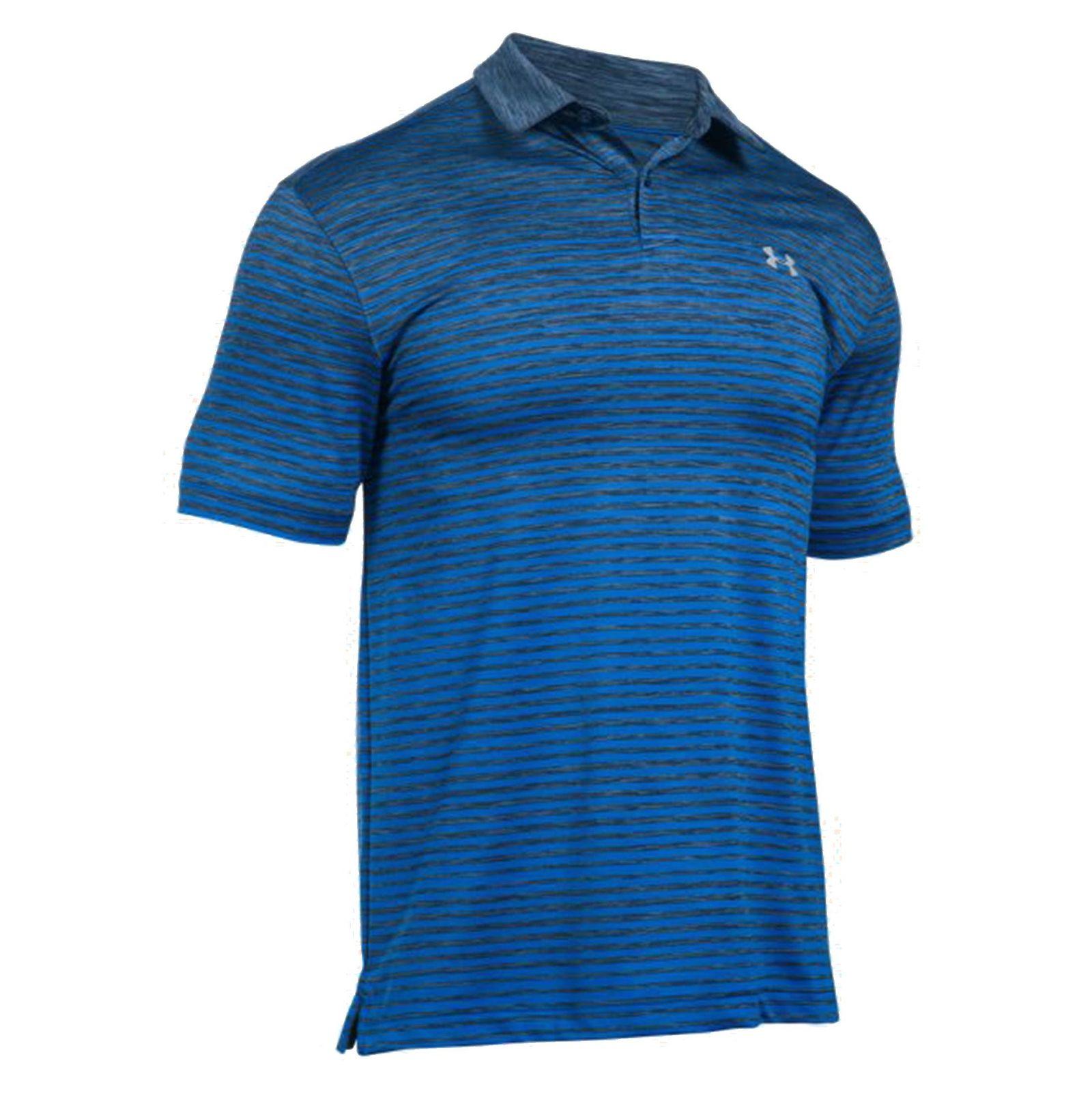 پولوشرت ورزشی آستین کوتاه مردانه - آندر آرمور - آبي - 1
