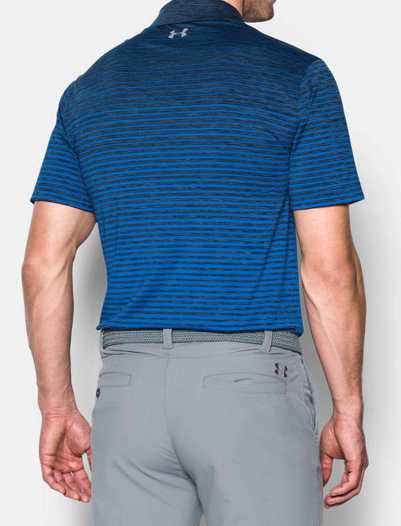 پولوشرت ورزشی آستین کوتاه مردانه - آندر آرمور - آبي - 4