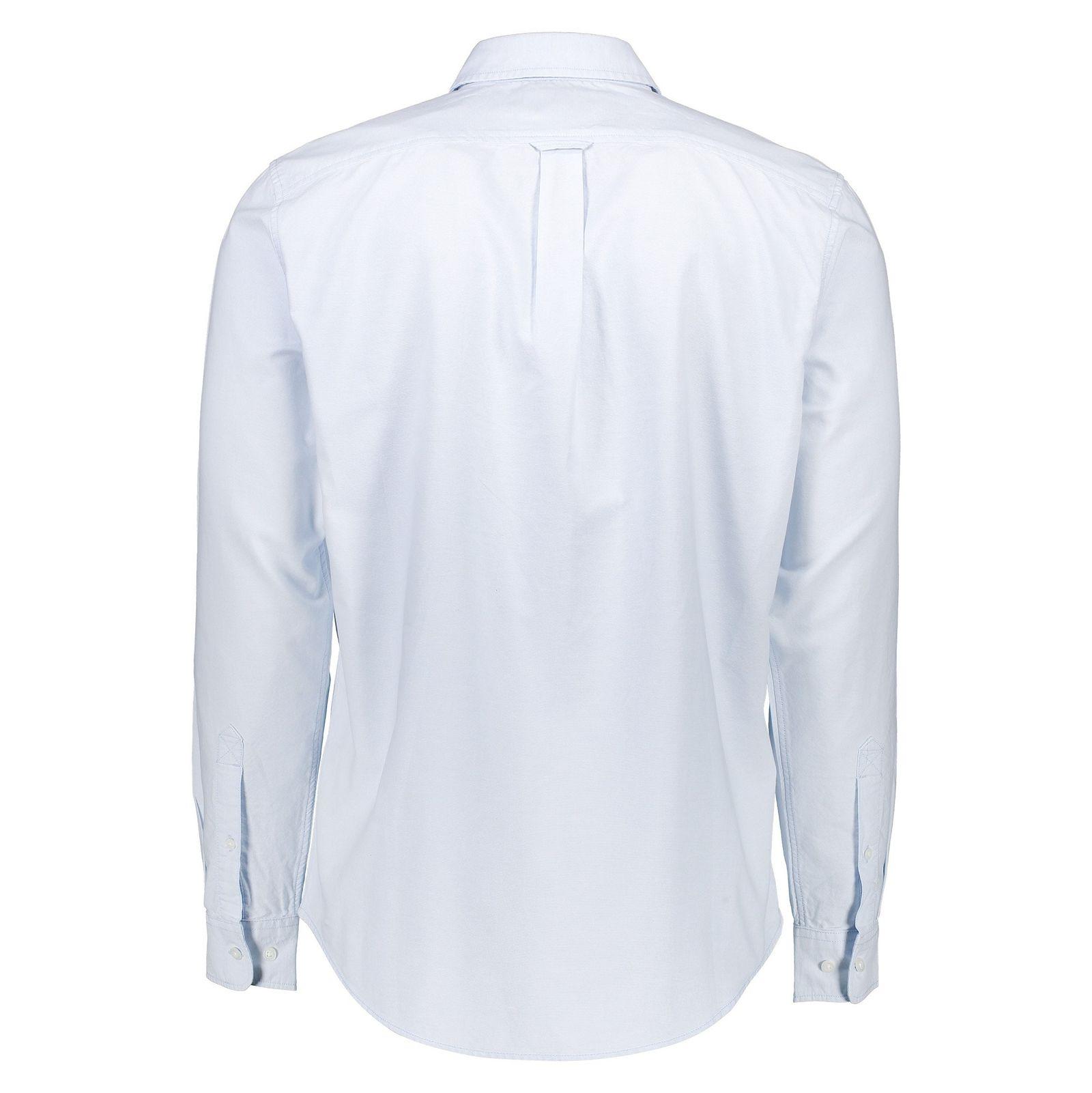 پیراهن نخی آستین بلند مردانه - تیمبرلند - آبي آسماني - 2