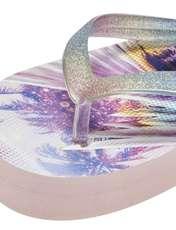 دمپایی لا انگشتی دخترانه - بلوزو - بنفش روشن  - 8