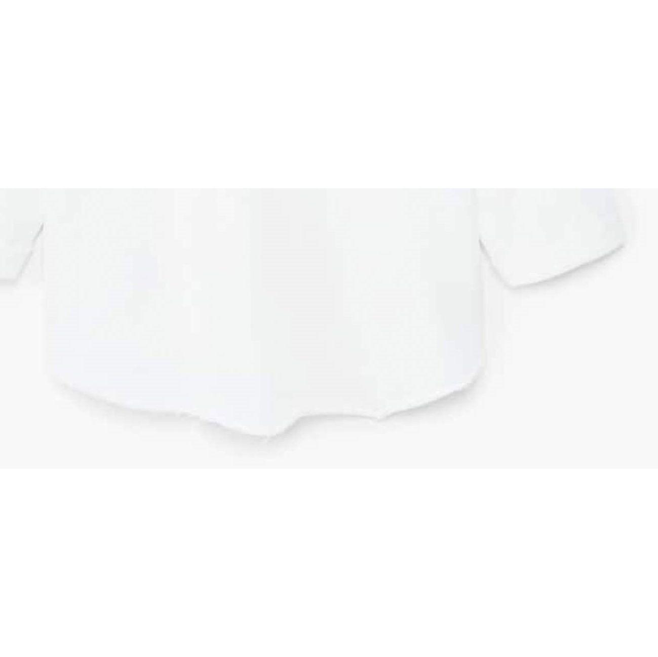تی شرت نخی یقه گرد دخترانه - مانگو - سفيد - 2