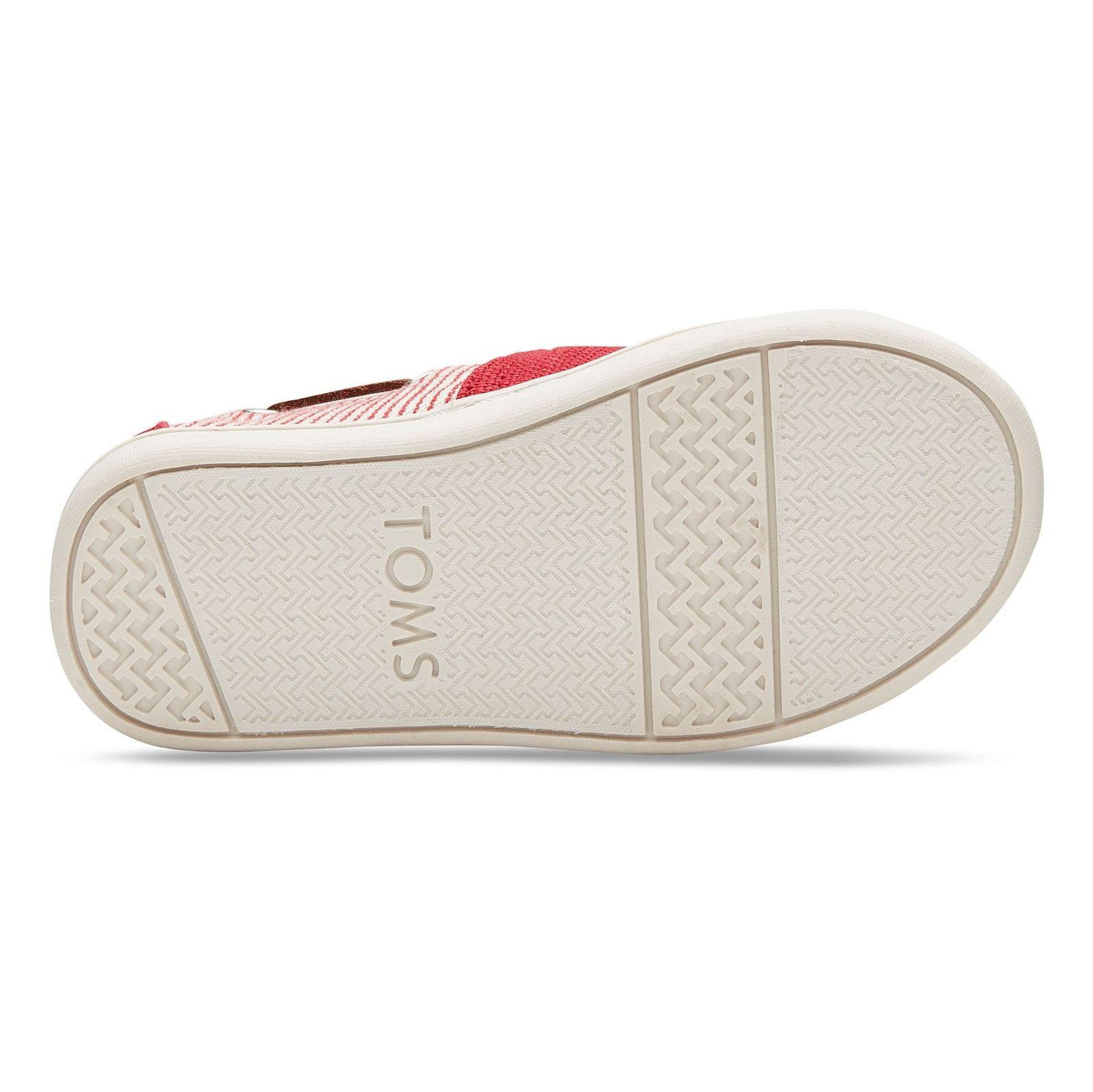 کفش راحتی پارچه ای بچه گانه - تامز - قرمز - 2