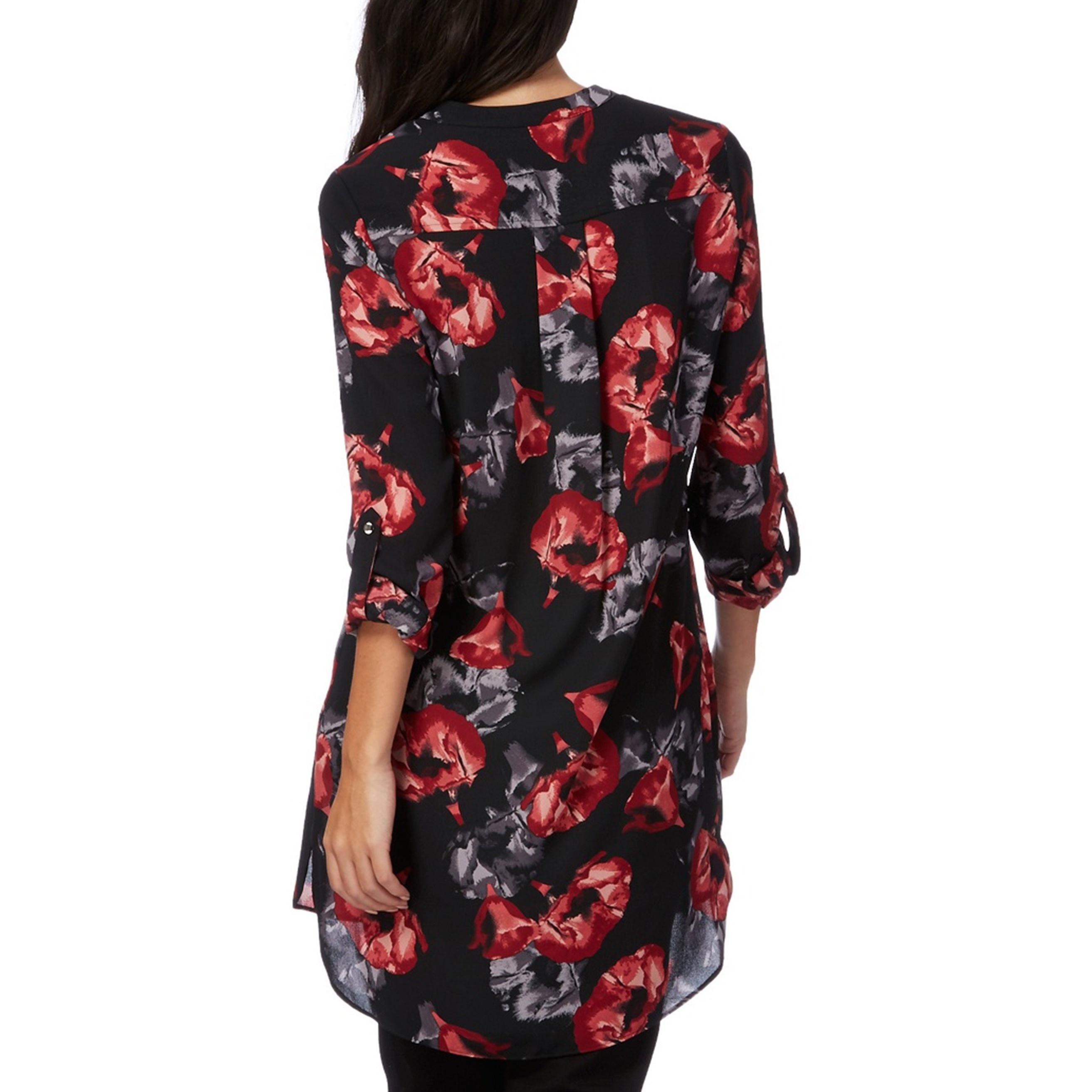 شومیز آستین بلند زنانه - کالکشن - مشکي - 2