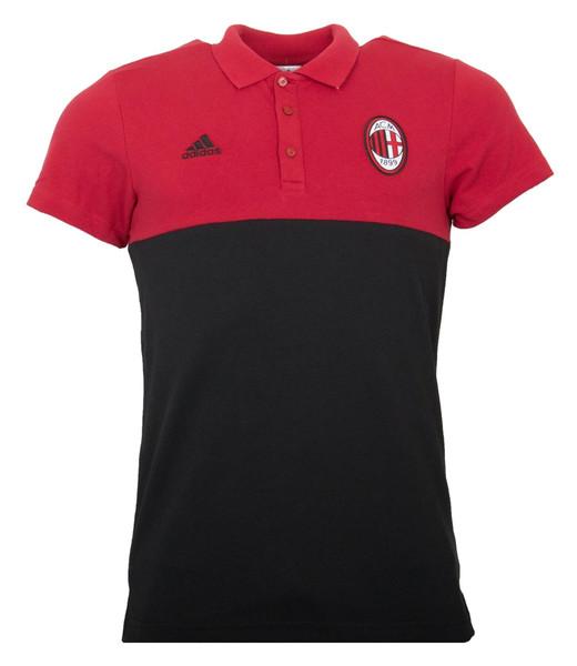 پولوشرت ورزشی نخی مردانه S AC Milan - آدیداس