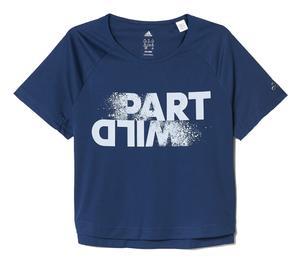 تی شرت آستین کوتاه ورزشی دخترانه آدیداس مدل BQ2886