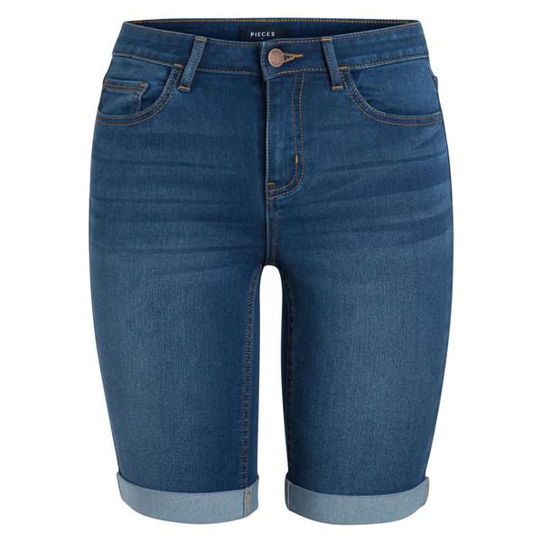 شلوارک جین بلند زنانه - پی سز