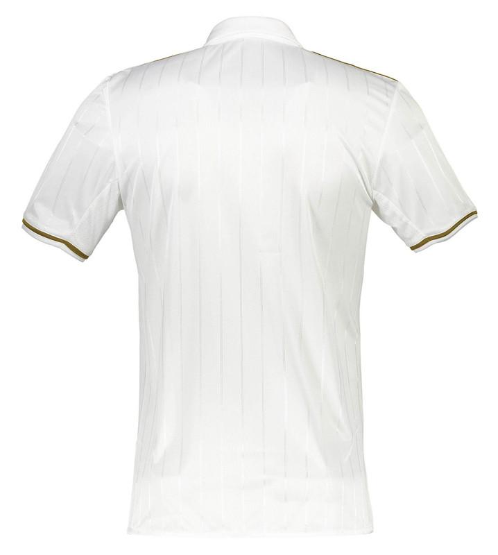 پولوشرت ورزشی آستین کوتاه مردانه AC Milan Away Replica - آدیداس