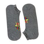 جوراب مردانه طرح بارسلونا کد 110 رنگ طوسی thumb