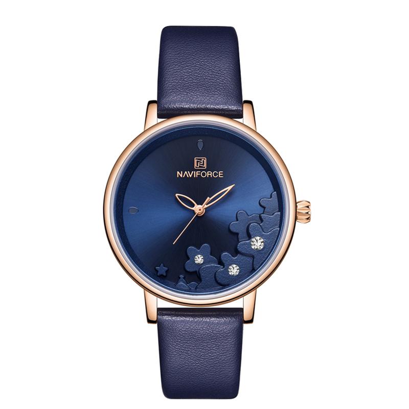 ساعت مچی عقربه ای زنانه نیوی فورس مدل NF5012L-BLU               ارزان
