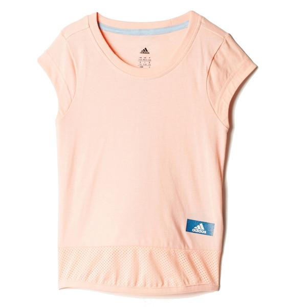 تی شرت نخی دخترانه LG ID Long - آدیداس