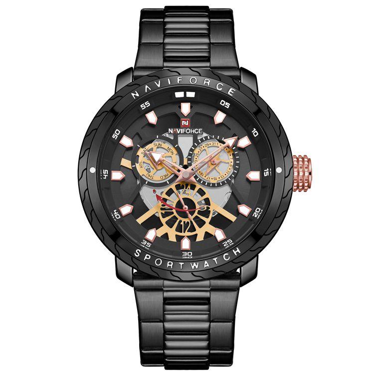 ساعت مچی عقربه ای مردانه مدل  NF9158