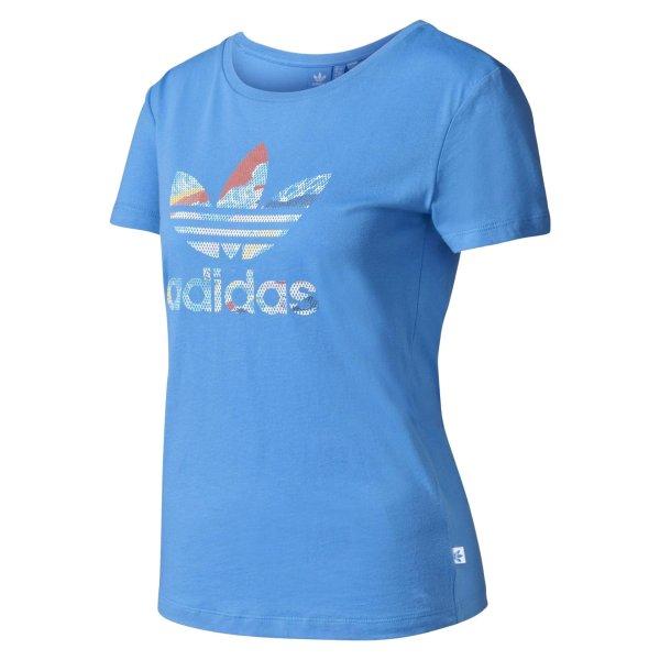 تی شرت نخی زنانه Trefoil - آدیداس