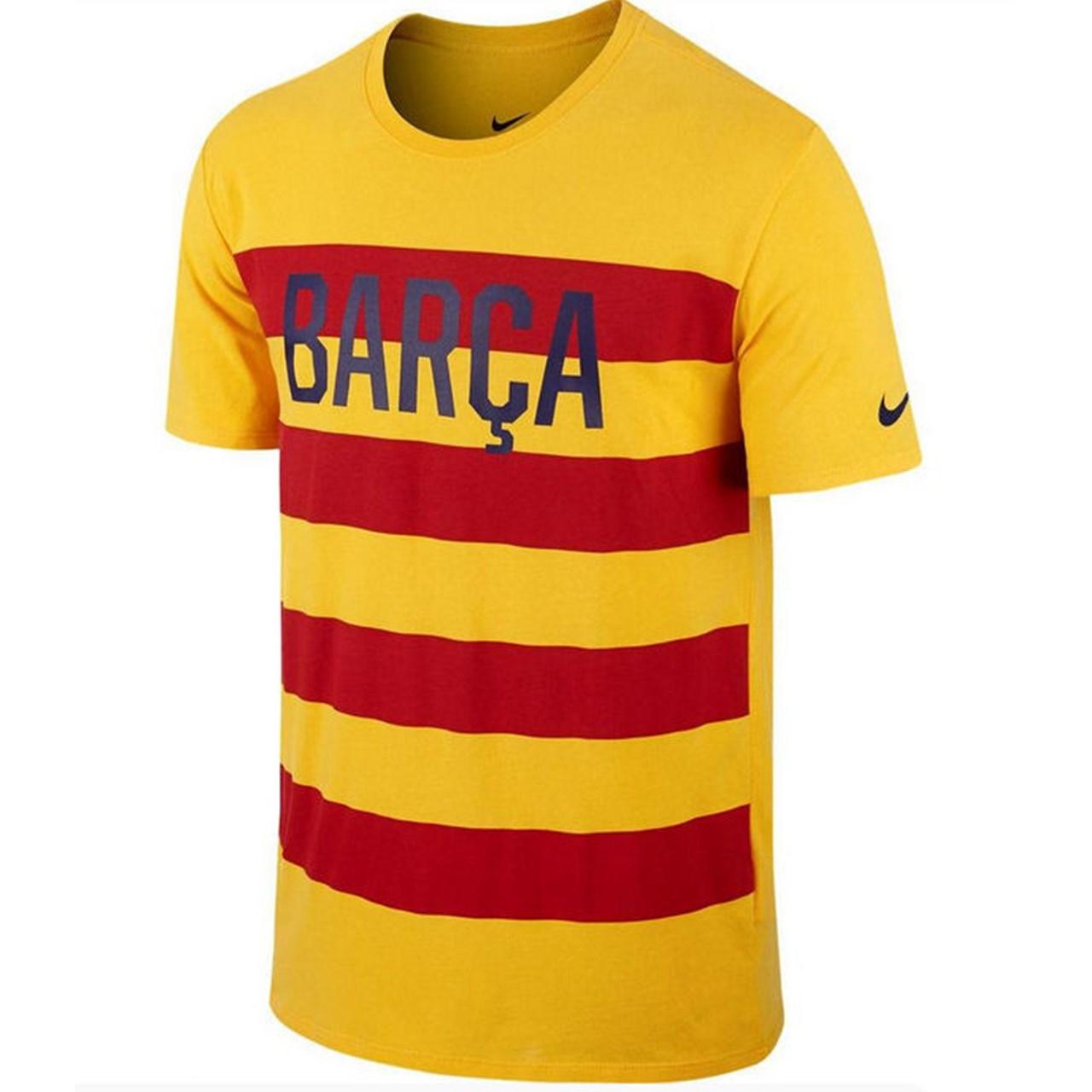 تی شرت مردانه نایکی مدل Barcelona