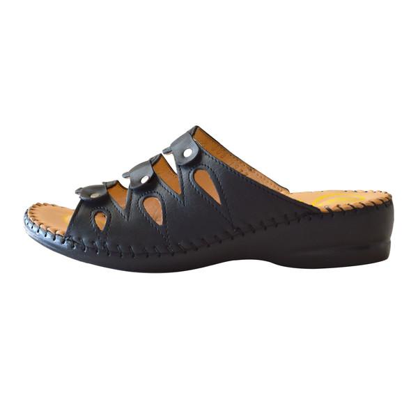 دمپایی زنانه کفش آداک مدل 103 رنگ مشکی