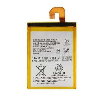 باتری موبایل مدل LIS1558ERPC ظرفیت 3100 میلی آمپر ساعت مناسب برای گوشی موبایل سونی Xperia Z3