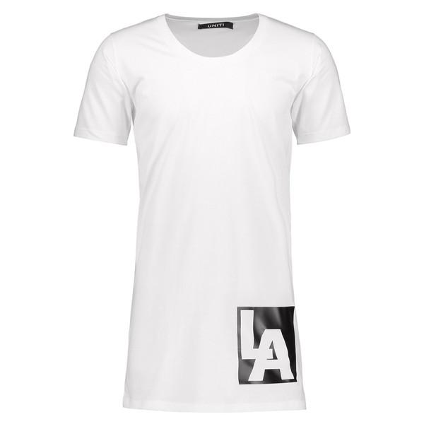 تی شرت مردانه یونیتی مدل Mens Jager LA White