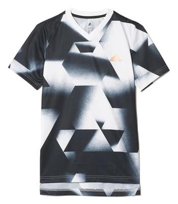 تصویر تی شرت ورزشی آستین کوتاه پسرانه Urban Football – آدیداس