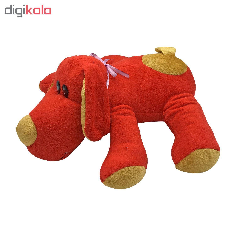 عروسک طرح سگ کد 856 ارتفاع 36 سانتی متر