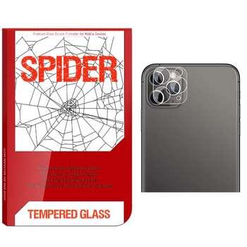 محافظ لنز دوربین اسپایدر مدل SDS-022 مناسب برای گوشی موبایل اپل iPhone 11 Pro