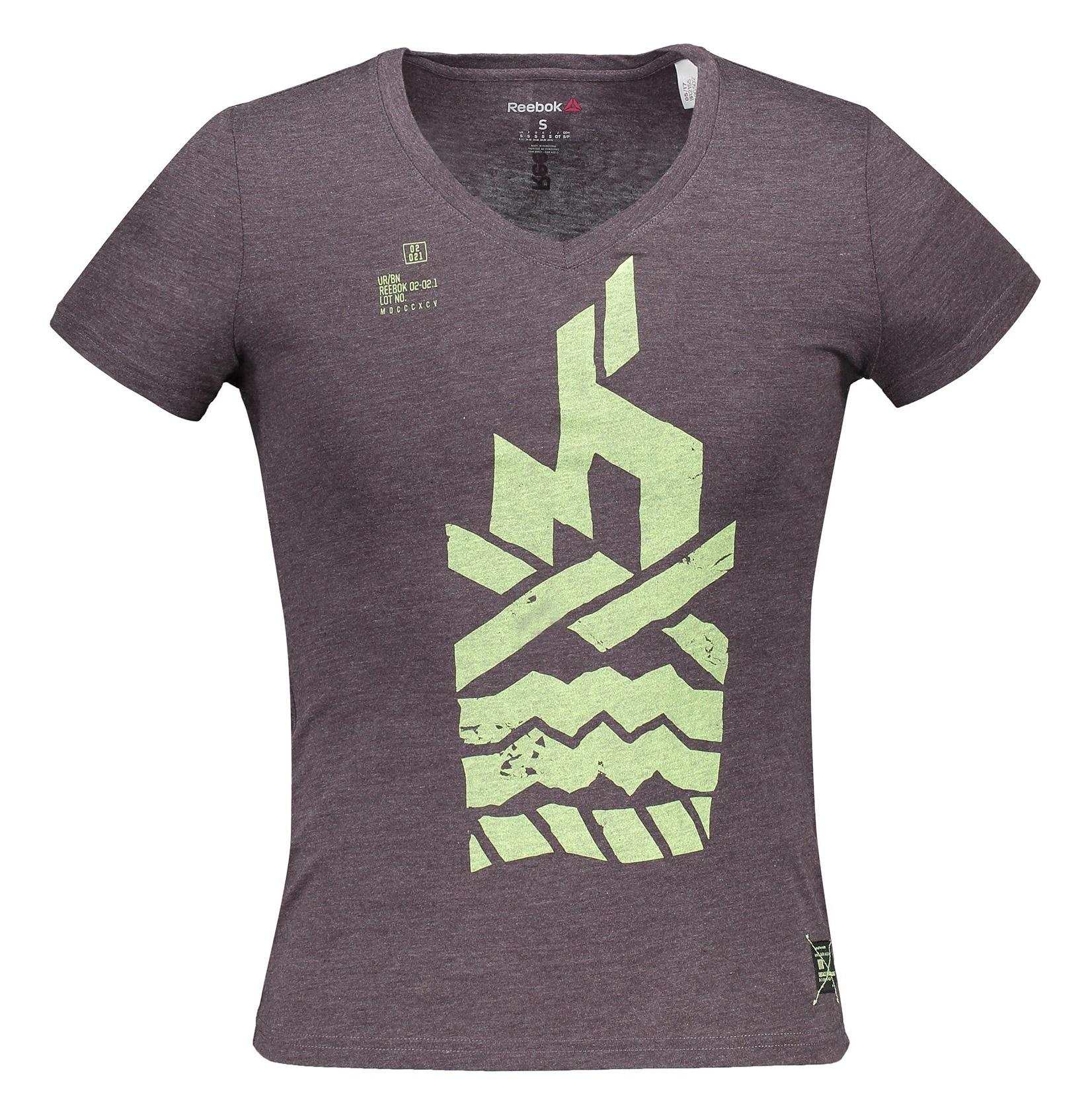 تی شرت ورزشی آستین کوتاه زنانه - ریباک
