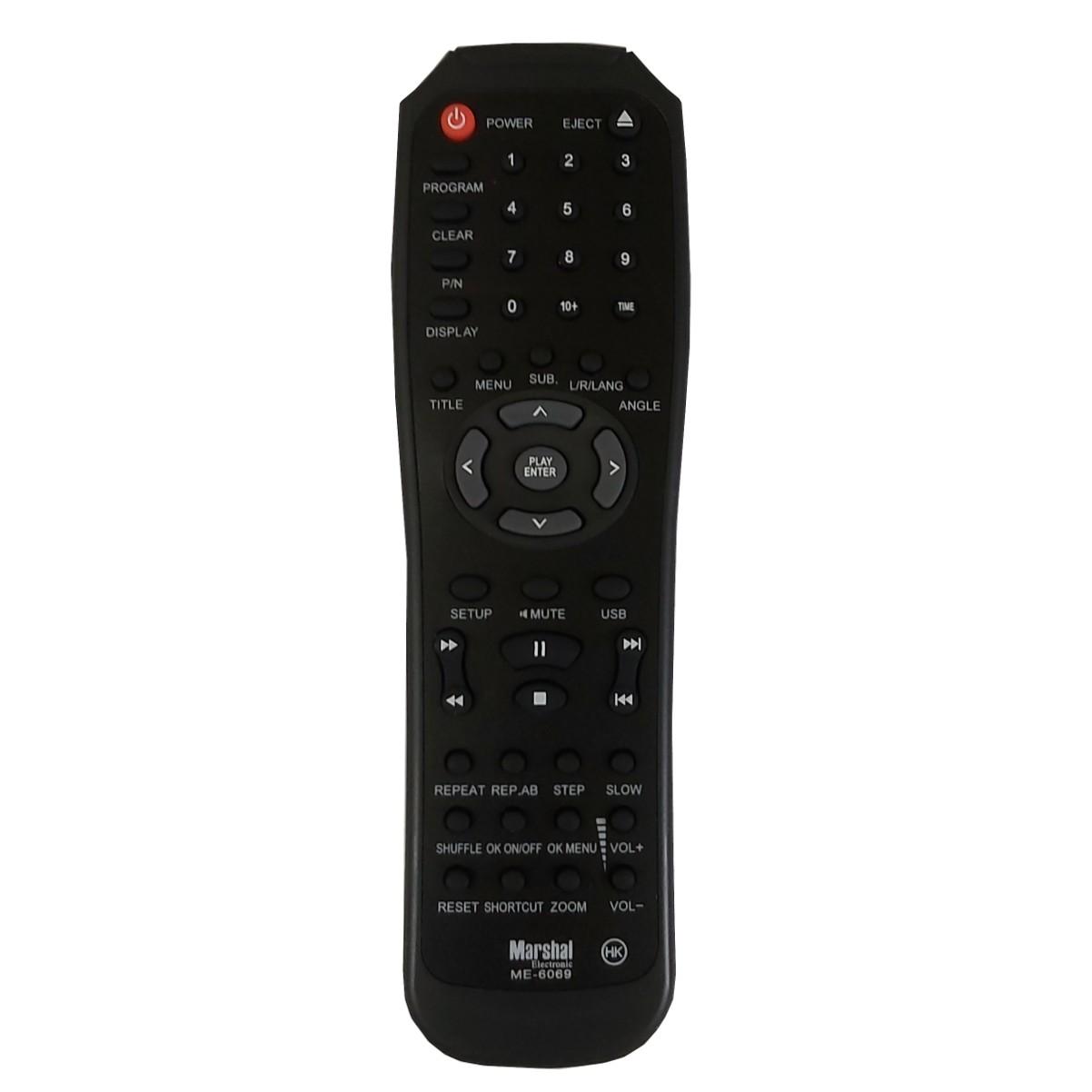 خرید اینترنتی ریموت کنترل مارشال مدل ME-6069 اورجینال