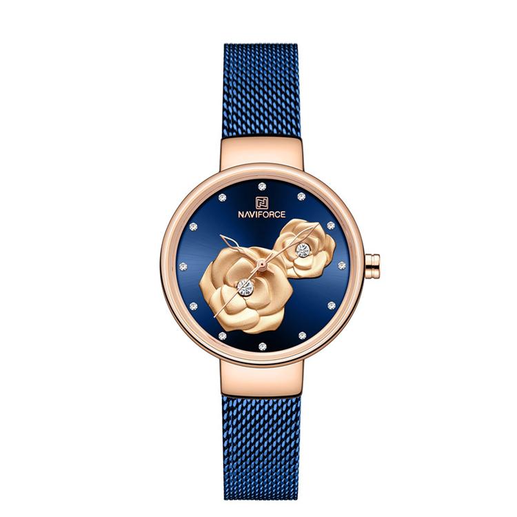 ساعت مچی عقربه ای زنانه نیوی فورس کد NF5013L-B              خرید (⭐️⭐️⭐️)