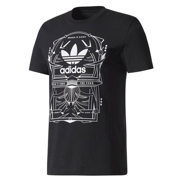 تی شرت نخی یقه گرد مردانه Boogie Down - آدیداس