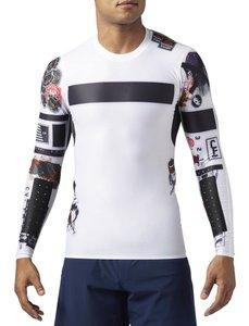 تی شرت ورزشی آستین بلند مردانه CrossFit Compression - ریباک