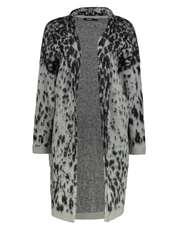 رویه طرح دار زنانه Leopard - دزیگوال - طوسي - 3