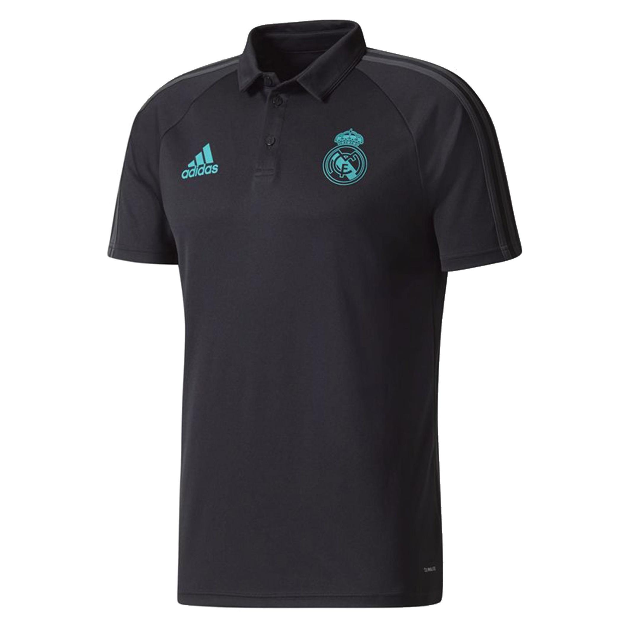 پولوشرت ورزشی آستین کوتاه مردانه Real Madrid - آدیداس - مشکي - 1