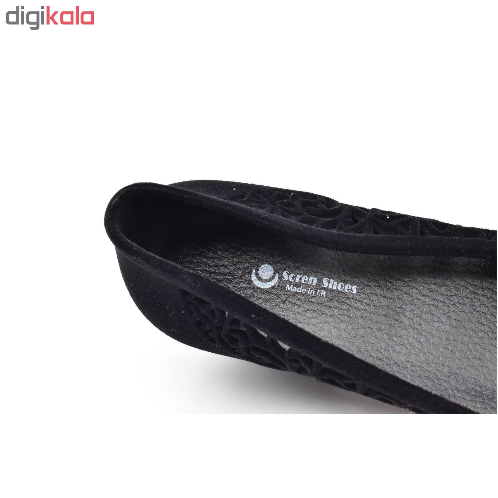 صندل زنانه کفش سورن مدل توران کد 5749 main 1 5