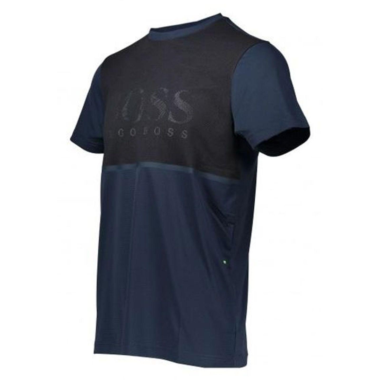 تی شرت یقه گرد مردانه Tearotech - باس - سرمه اي - 4