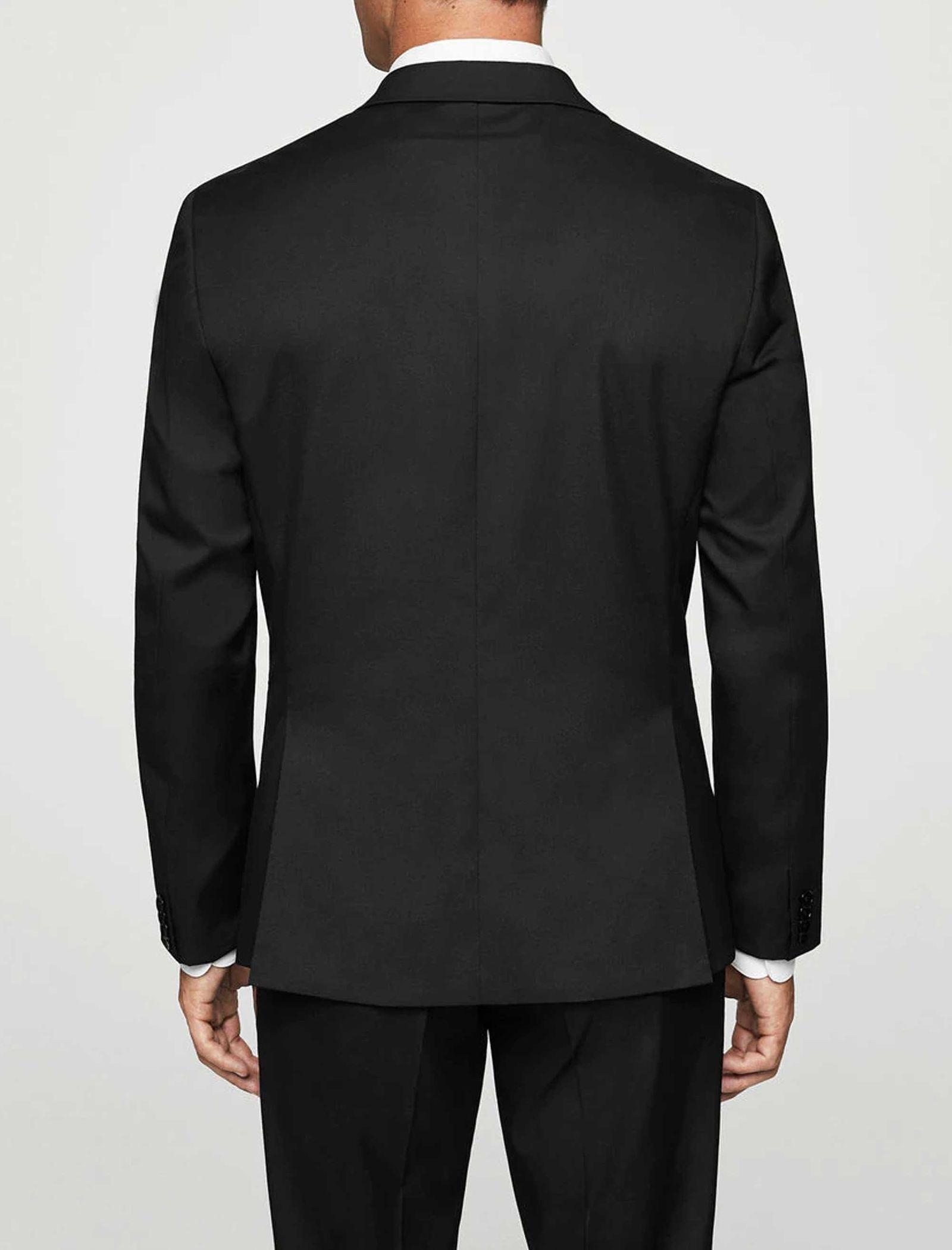 کت تک رسمی مردانه - مانگو - مشکي - 2