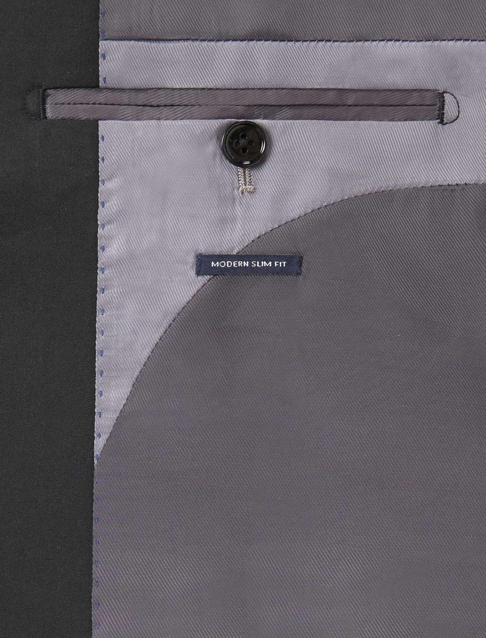 کت تک رسمی مردانه - مانگو - مشکي - 5