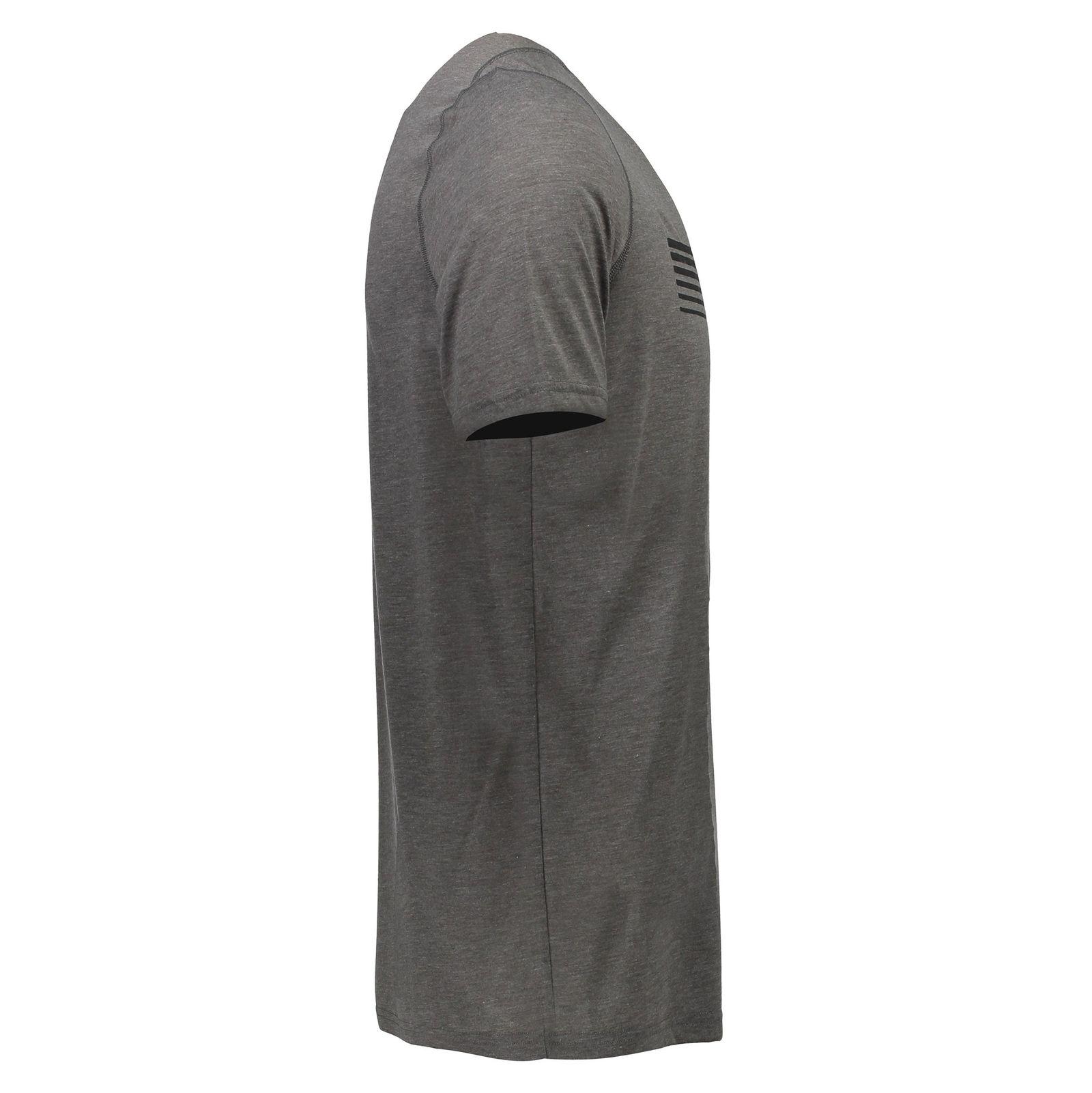 تی شرت ورزشی یقه گرد مردانه - آندر آرمور - طوسي تيره - 3