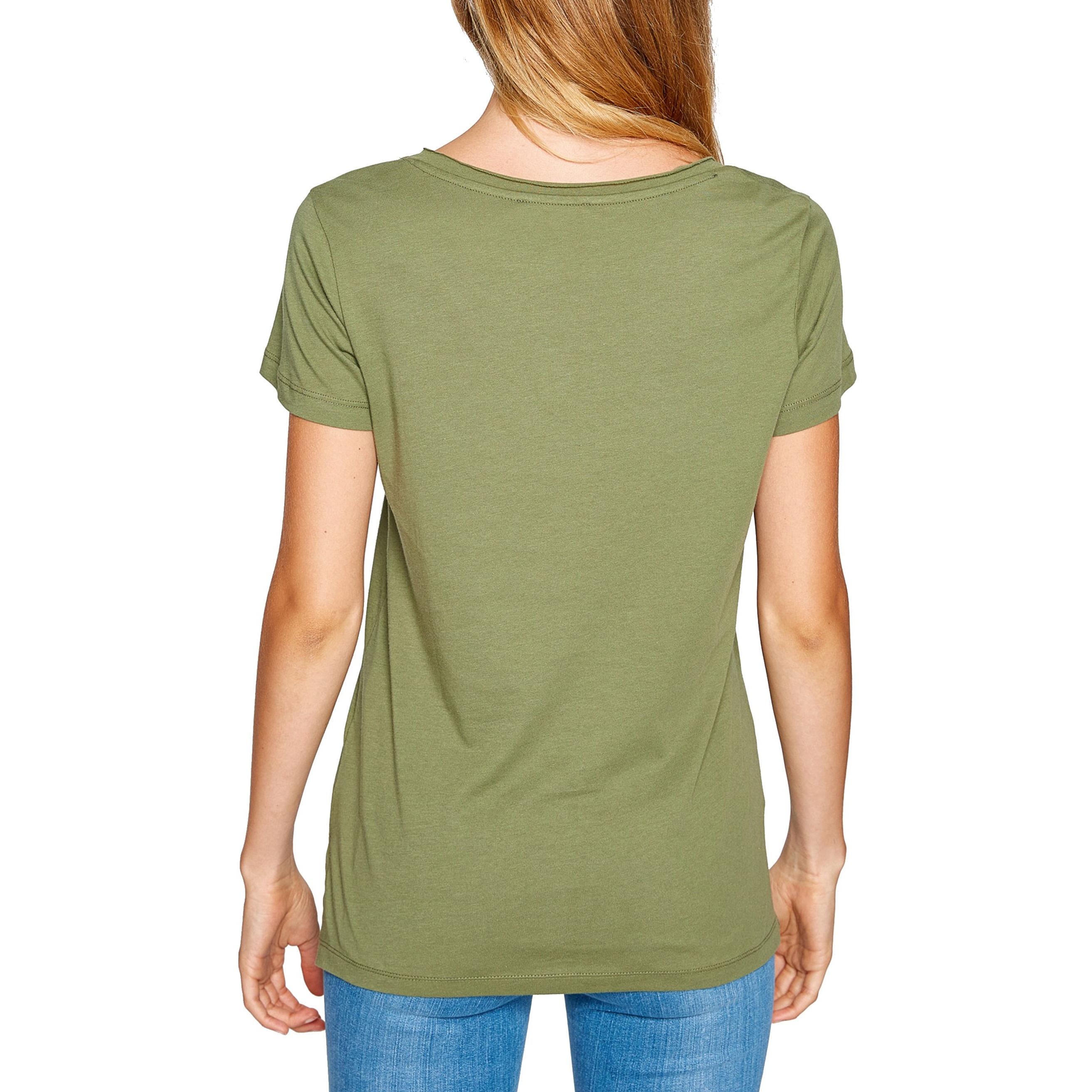 تی شرت نخی یقه هفت زنانه - کوتون - سدري - 2
