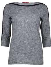 تی شرت نخی آستین سه ربع زنانه - اس.اولیور - سرمه اي - 1
