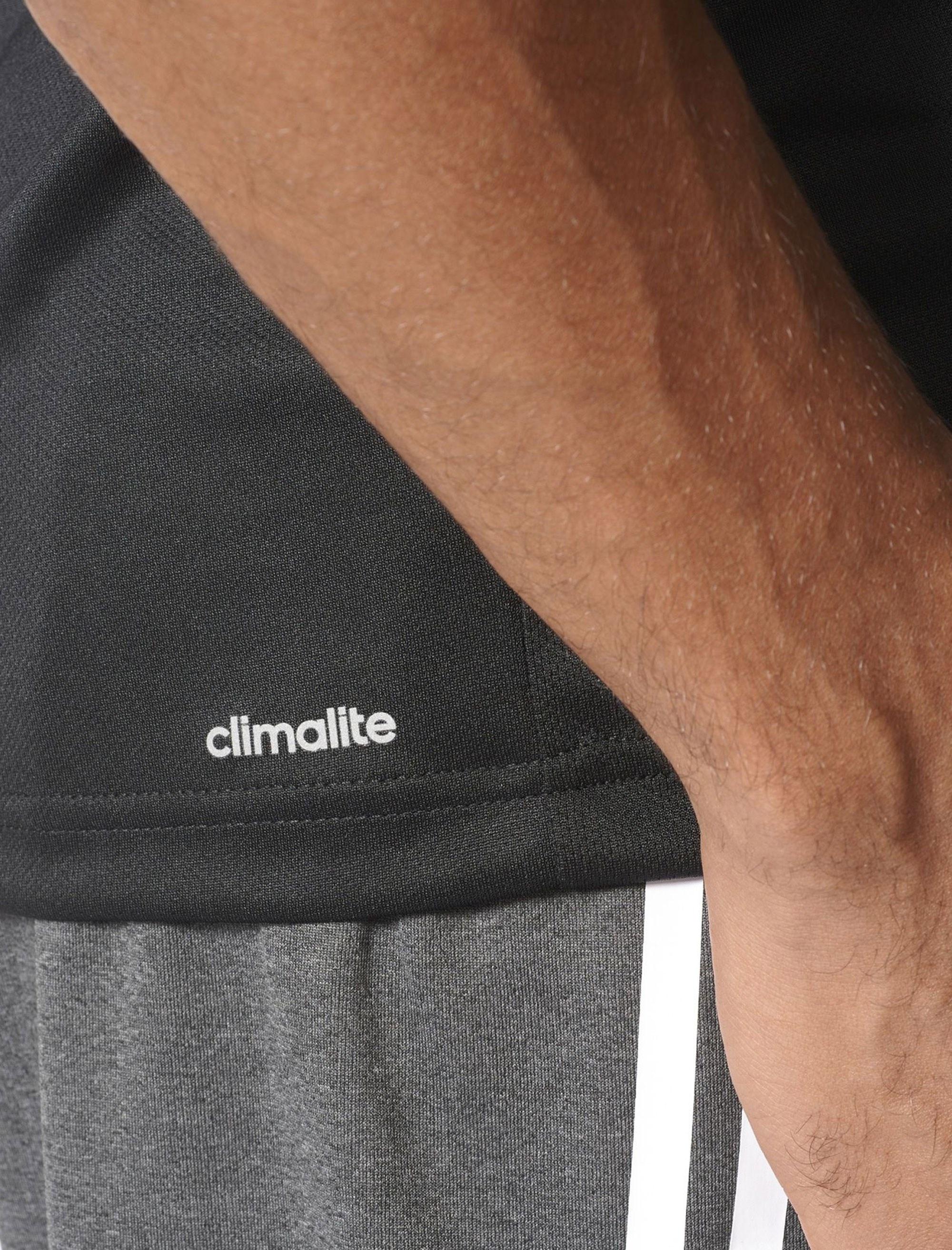 تاپ ورزشی یقه گرد مردانه BVD Sporty Design To Move PLAIN - آدیداس - مشکي - 6