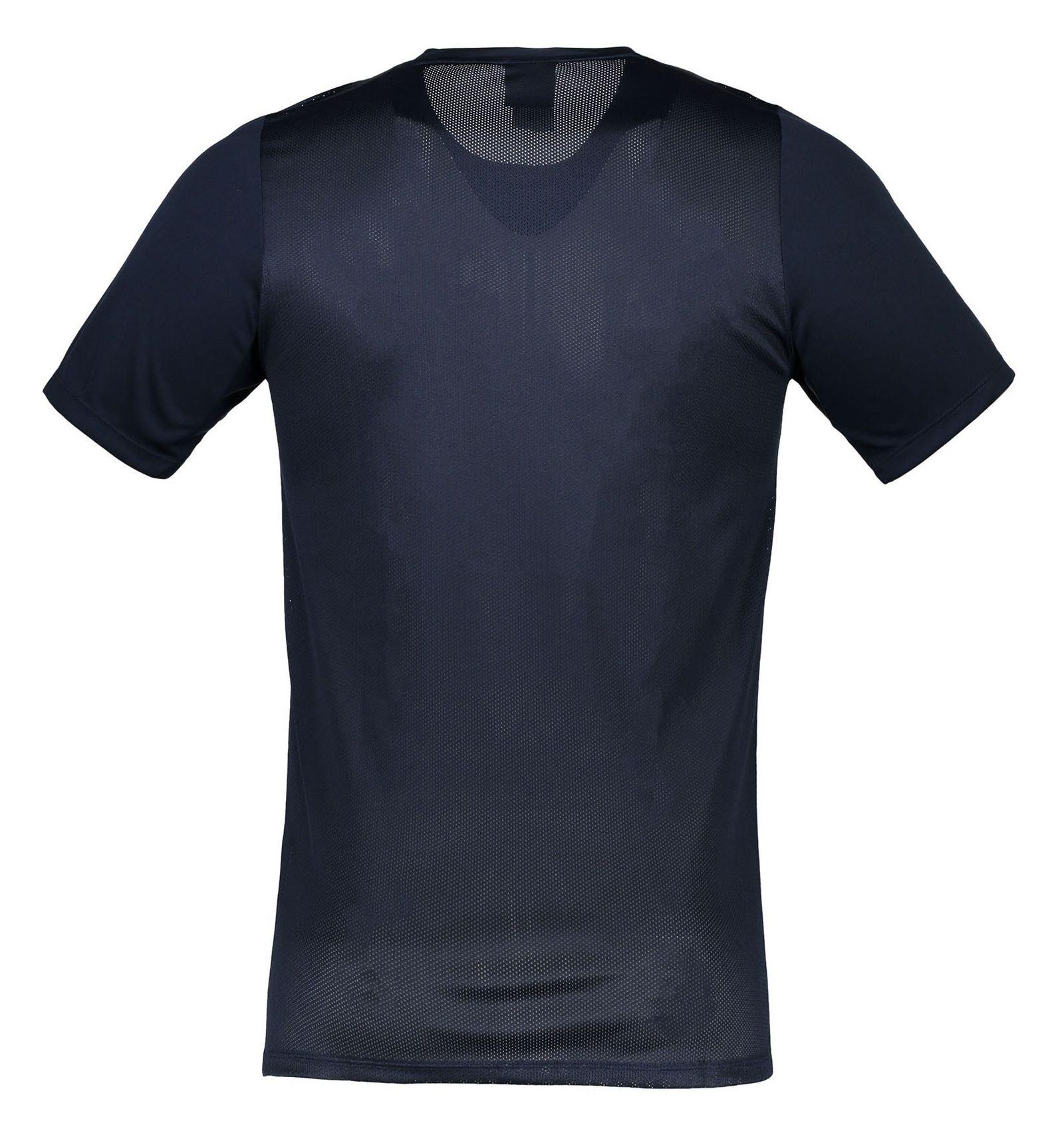 تی شرت یقه گرد مردانه Academy 16 - نایکی - سرمه اي - 2